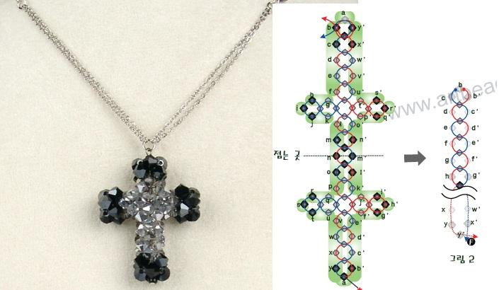 Кресты схемы из бисера