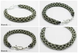 Круглые браслеты из бисера схемы плетения